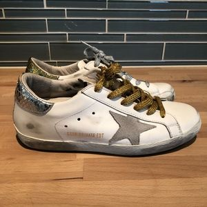 Golden Goose Superstar LTD Edition Sneakers Size 8